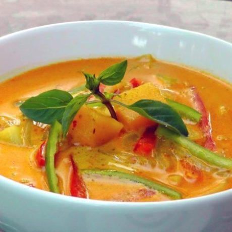Vegansk currygryta